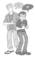 Dan and Chris by RoughReaill
