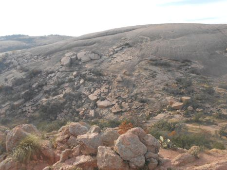 Enchanted Rock from Buzzard's Roost by rzgrc