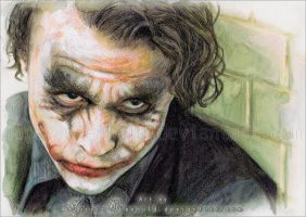 The Joker by AuroraWienhold