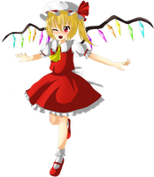 Flandre Scarlet by Water-horse