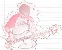Photoshop: Bass playing by Yomon