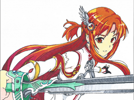 Asuna by FaceEating101
