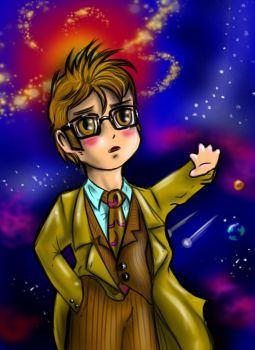 Chibi 10th Doctor 2 by FuriarossaAndMimma