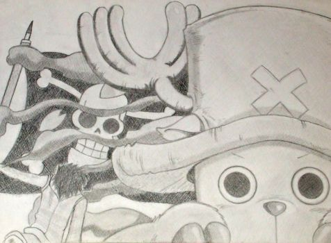 Tony Tony Chopper: Under A Pirate's Flag by FadeElaDee