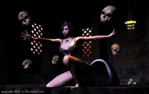 A'yumi - Dance of the Dead by Aphrodite-NS