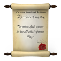 Certificate of Registration by Efirende