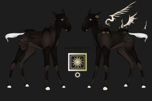 B-1300 Foal Design for Jackewa for me (lol) by MemosNiceSide