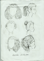 Hair Style 3 by Pammella