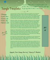 Jungle Template WIP by ShapeQuest