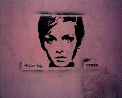 Twiggy Stencil by saniday