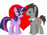 Twilight sparkle x Discorded Whooves  by Ripped-ntripps