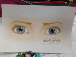 Those Gray Eyes by GiuliaMarchi