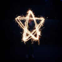 Light painting : star by perfect-dream