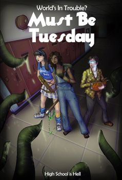 Must be Tuesday - Cover Art by open-sketchbook