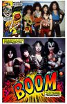 KISS Creatures Comic Alt Universe by medek1