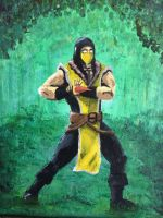 Scorpion in the forest by DPB-Art