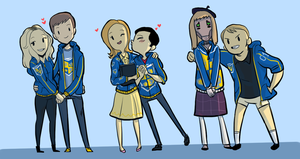 VGHS couples by Super-Cute