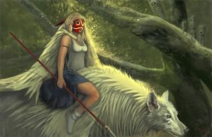 Princess Mononoke by KleeWyck