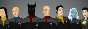 Crew of the USS Honor by Turbulence1973