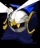 Meta Knight... by AssassinLeai