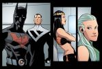 Justice League Beyond 5 preview by dfridolfs