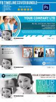 Corporate FB Timeline Cover Bundle 02 by Ruthgschultz