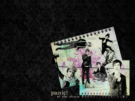 panic at the disco wallpaper by klauddd