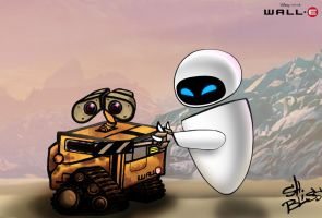 Happy End of Wall-e and Eve by Bliss-23