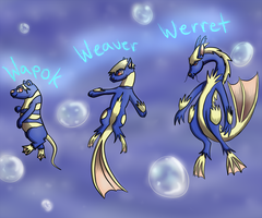 Water Rodent Fakemon by Inudoragon23