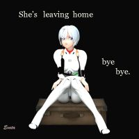 She's leaving home ,...............bye , bye. by exata