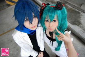 KAITO.Miku - World is mine II by Onnies