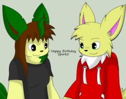 Happy Birthday SesshaXIII! 2013-2014 by Zander-The-Artist