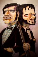 Flight Of The Conchords by vizorg