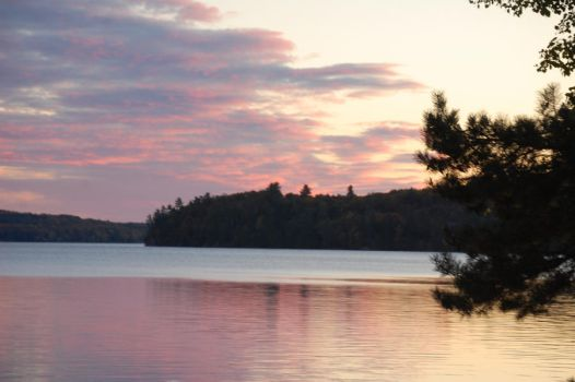 Lake of Bays Sunset by bac49on