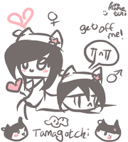 Kuro and Kuro by mochatchi