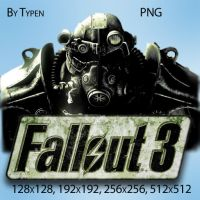 Fallout 3 Dock Icon 1 by Typen