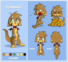 Rummage Reference Sheet by ecokitty
