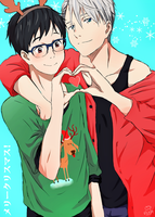 Merry Christmas~ (Victuuri) by Daniimon