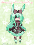 Chibi Reira .:Happy Easter:. by Royal-Butterfly