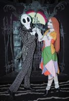 Jack and Sally by chocobojockey