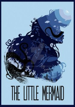 The Many Faces of Cinema: The Little Mermaid by Hyung86