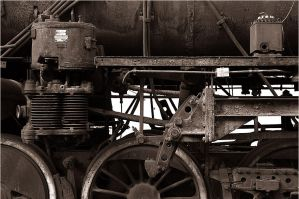 Steam locomotive - 2 by urCan