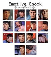 Spock Emotes by TreeofKnowledge