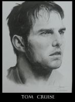 Portrait of Tom Cruise by Monkey-Jack
