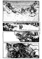 The Hobbit comics: Snow day - part (3) by evankart