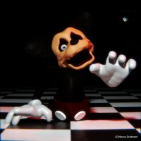 Distorted Mickey Mouse by NexusDrakeson