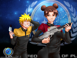 Request 11: Star Trek Naruto by haeunee2