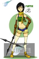 Yuffie by silrance