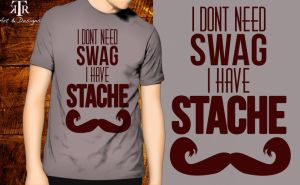 'Stache T-Shirt by To-Ka-Ro