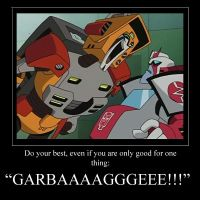 Wreck-Gar motivational poster by Trey-Vore